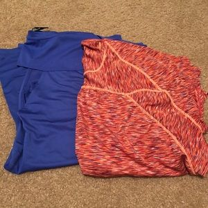 Tops - 2 workout tops